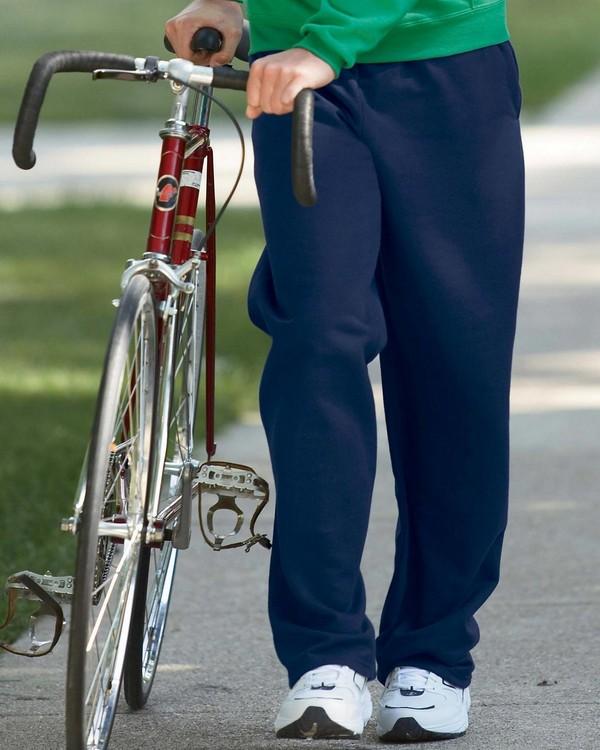 Jerzees 974MP 50/50 NuBlend Open-Bottom Sweatpants