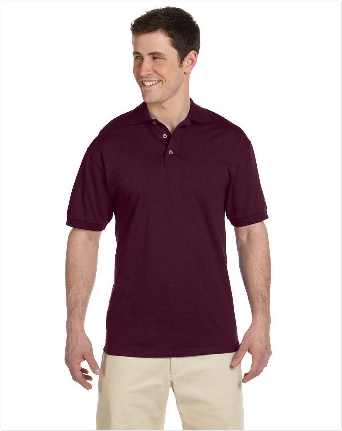 Jerzees J100 Heavyweight Cotton Jersey Polo