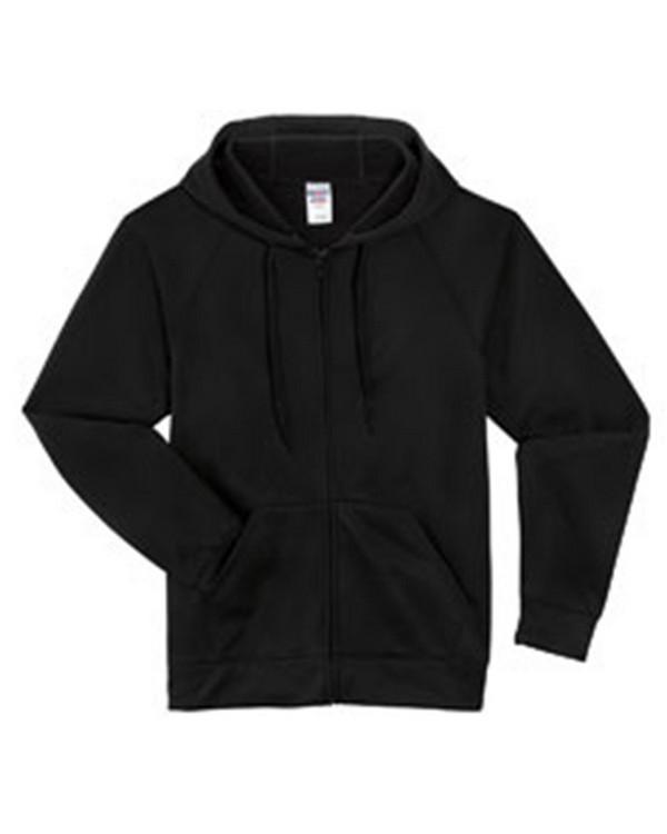 Jerzees PF93MR Sport Tech Fleece Full Zip Hoodie