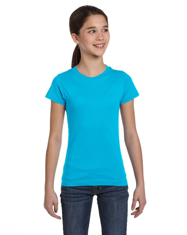 LAT 2616 Girls Fine Jersey T-Shirt