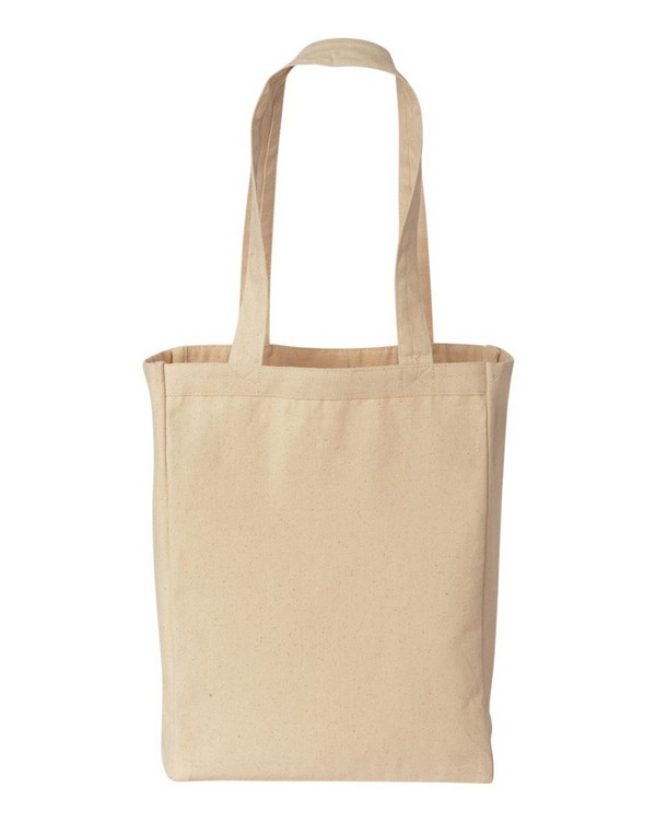 Liberty Bags 8861 Canvas Tote with Gusset