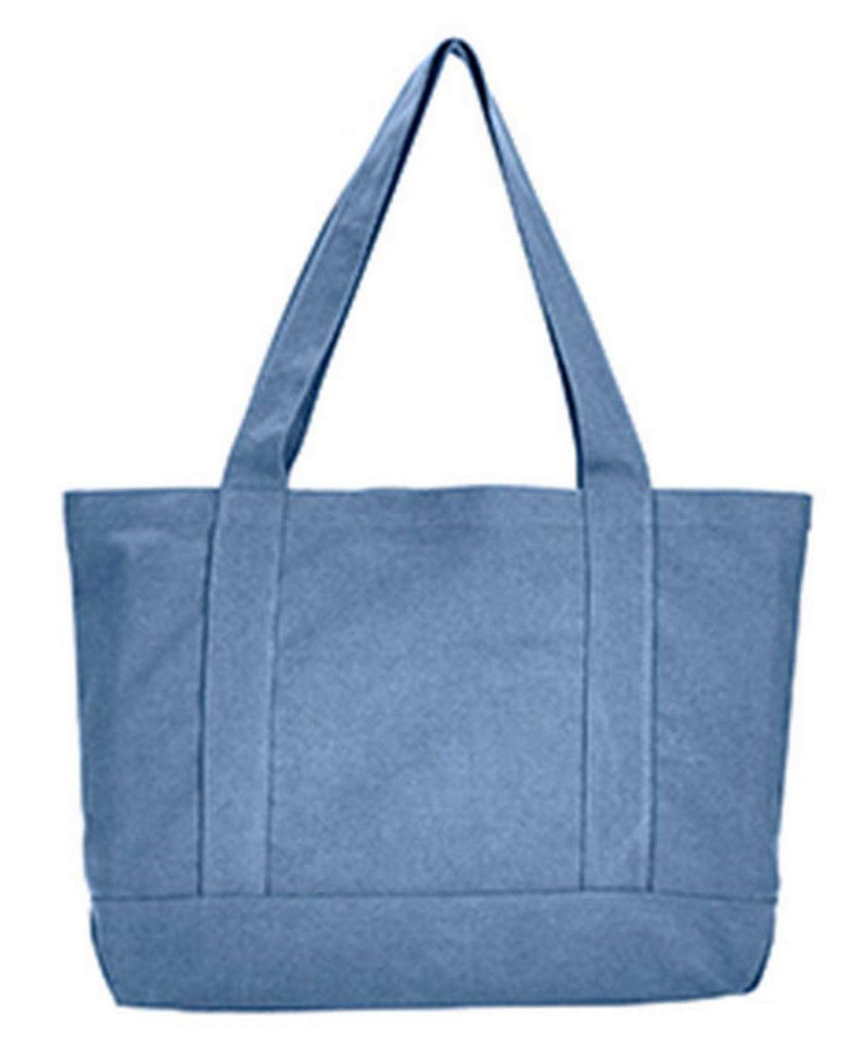 Liberty Bags 8870 Seaside Cotton Canvas Pigment-Dyed Boat Tote