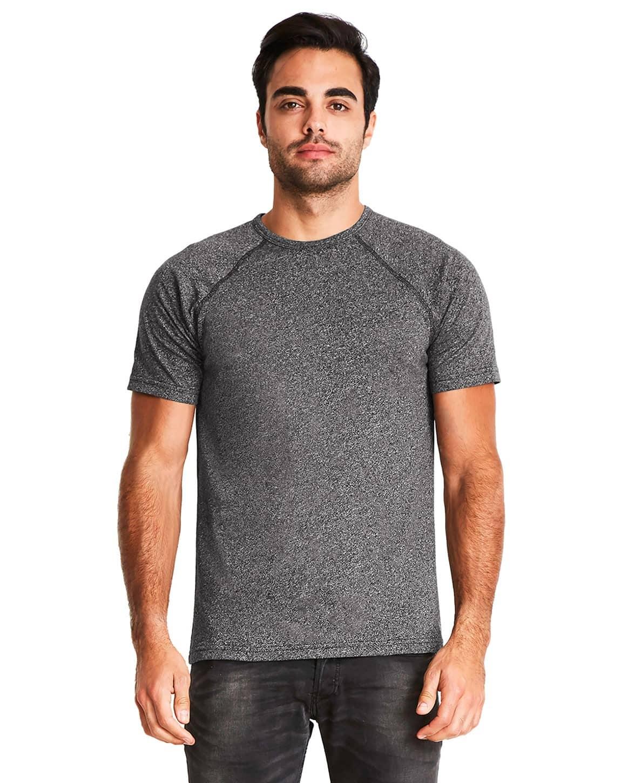Next Level 2050 Mens Mock Twist Short-Sleeve Raglan T-Shirt