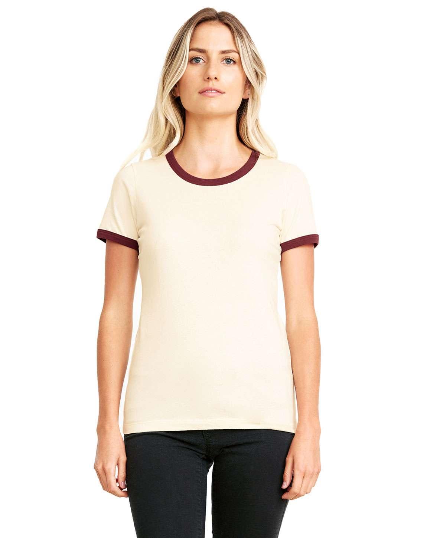 Next Level 3904 Ladies Ringer T-Shirt