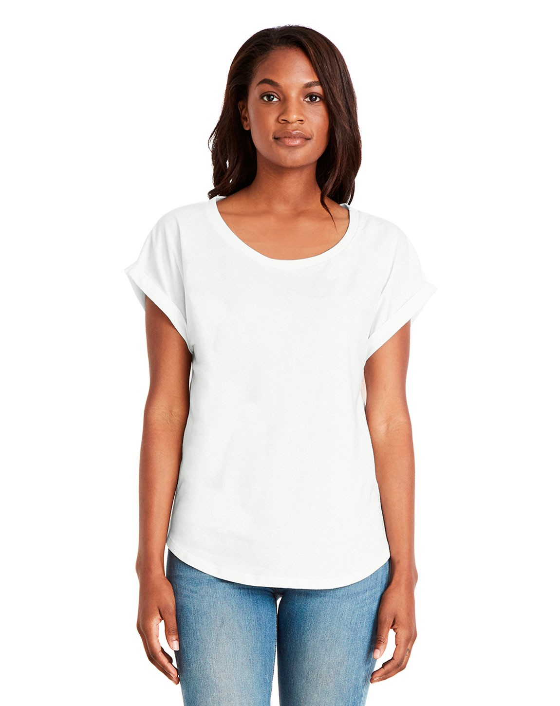 Next Level 6360 Ladies Dolman with Rolled Sleeves