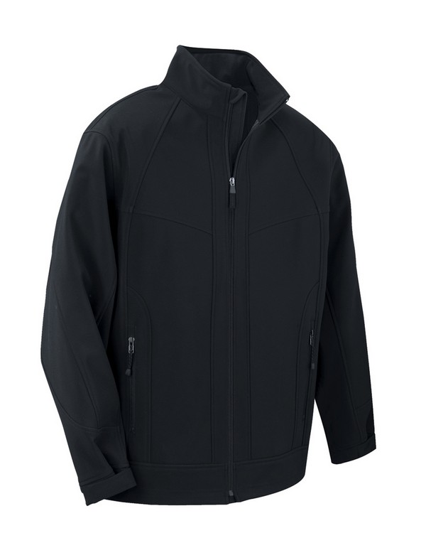 North End 88604 Mens Three-Layer Light Bonded Soft Shell Jacket