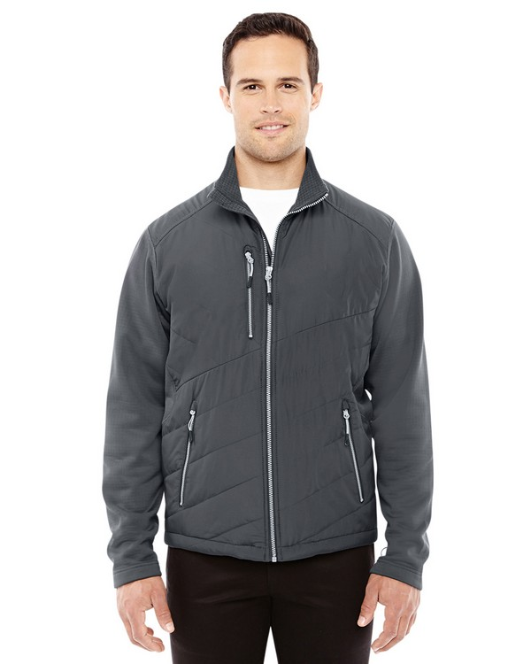 North End 88809 Mens Quantum Interactive Hybrid Insulated Jacket