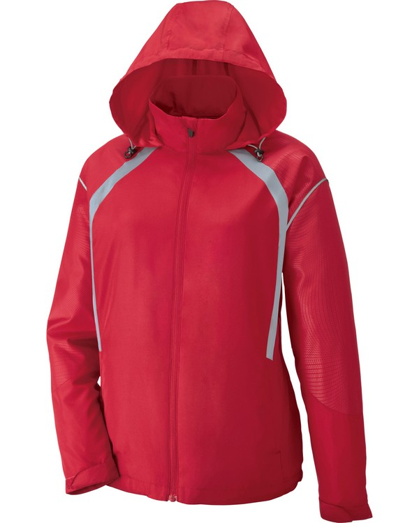North End 78168 Sirius Ladies Lightweight Jacket With Embossed Print