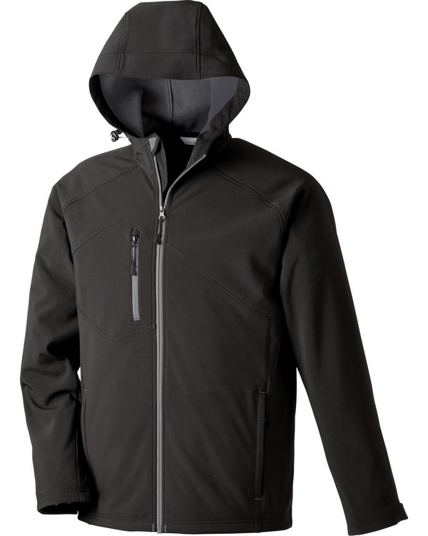North End 88166 Prospect Mens Soft Shell Jacket With Hood