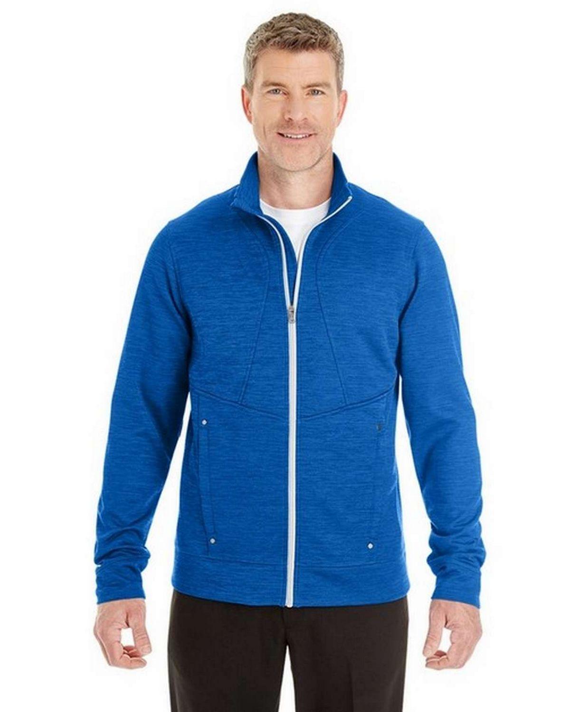 North End NE704 Mens Amplify Melange Fleece Jacket