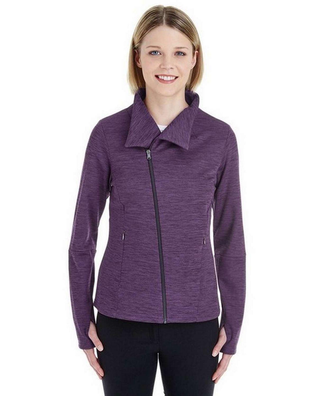 North End NE704W Ladies Amplify Melange Fleece Jacket