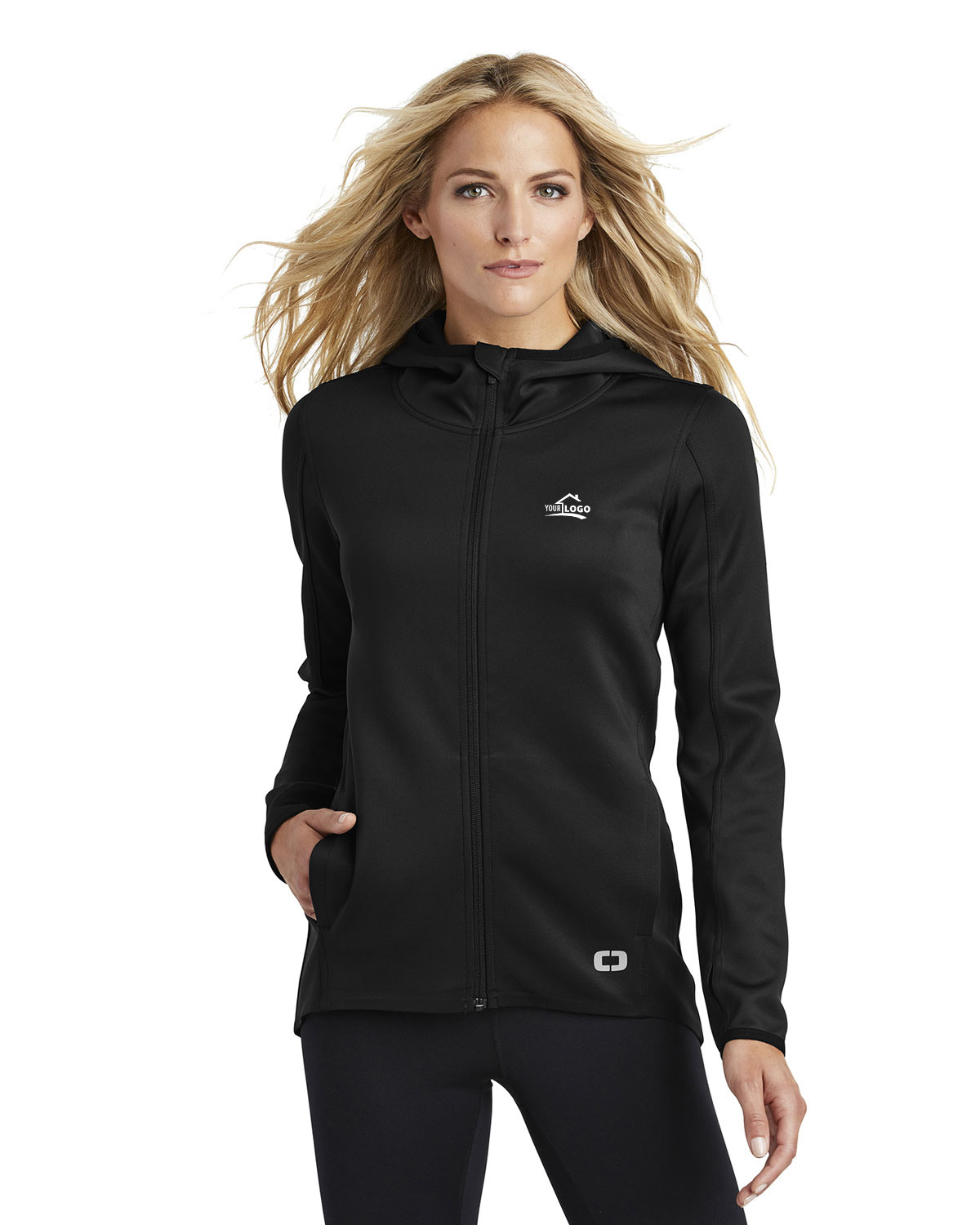 Ogio Endurance LOE728 Women Stealth Full-Zip Jacket