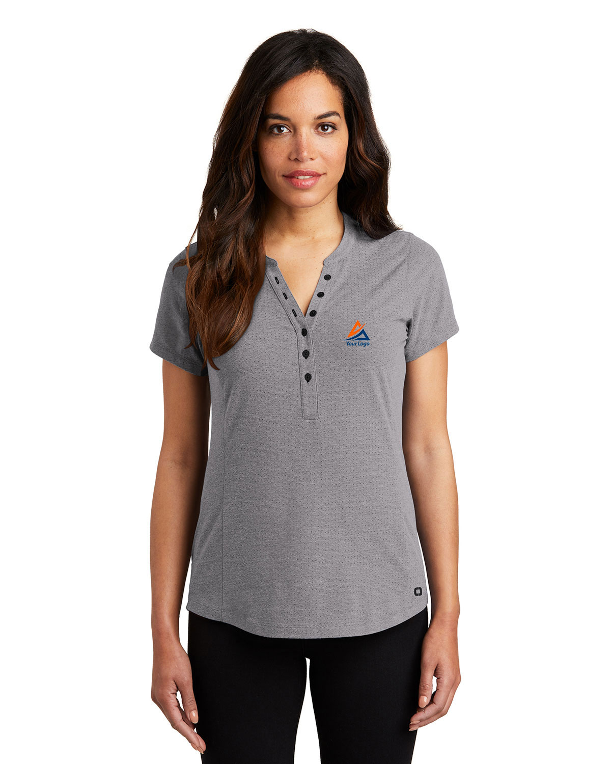Ogio LOG136 Women Tread Henley