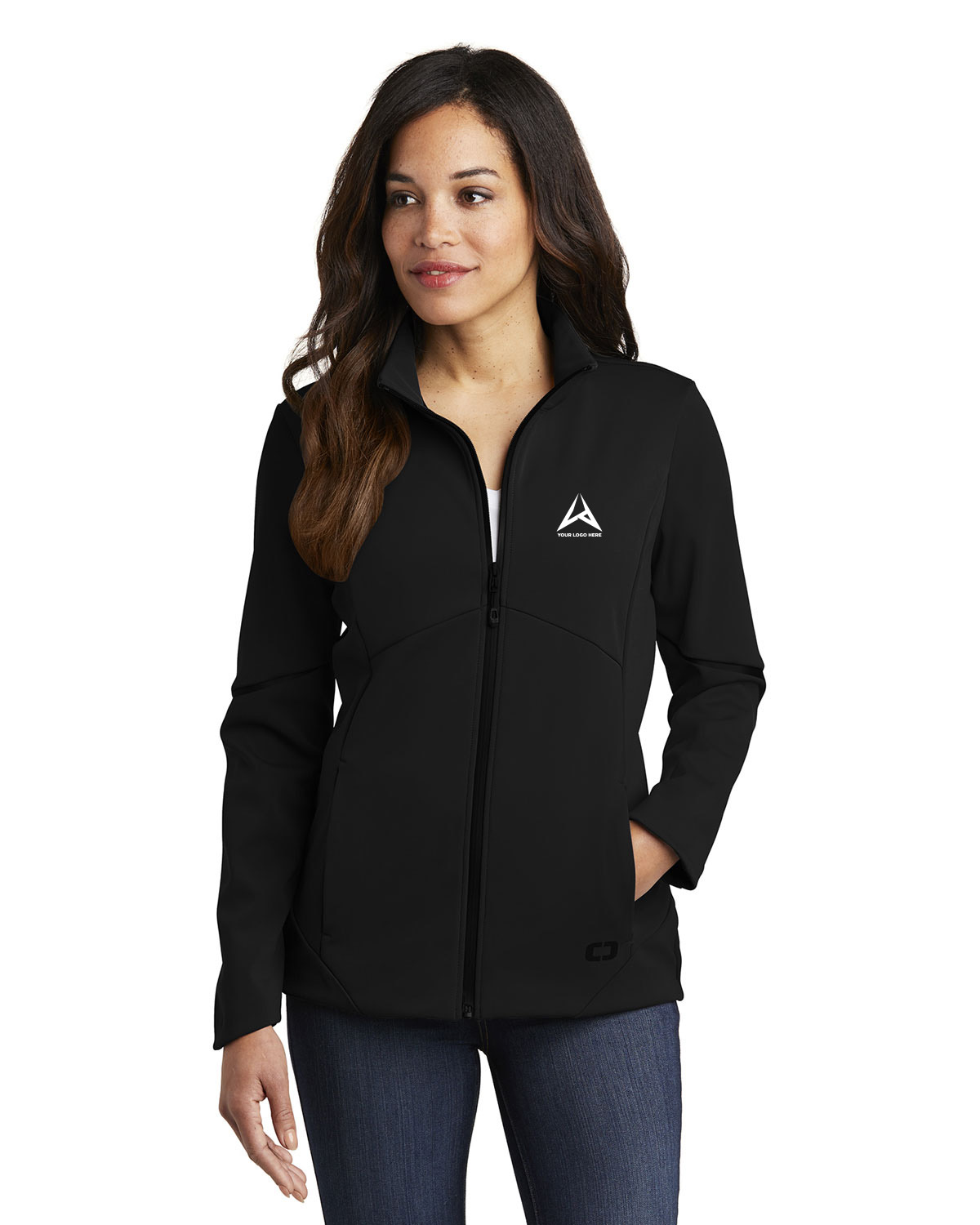 Ogio LOG725 Women Exaction Soft Shell Jacket