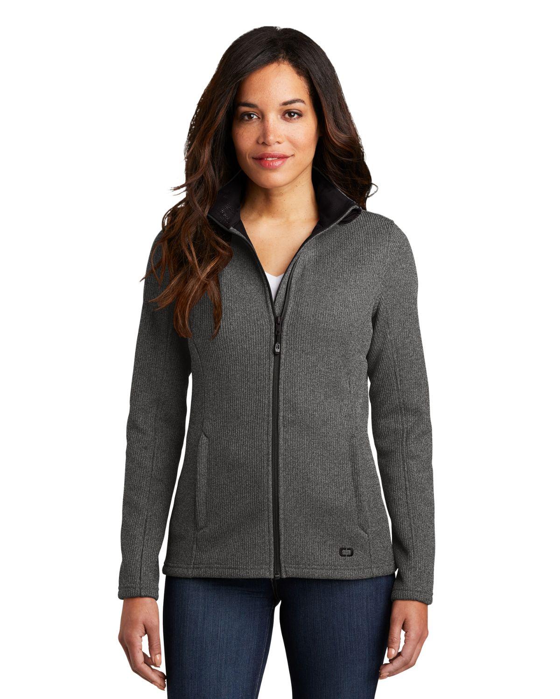 Ogio LOG727 Women Grit Fleece Jacket