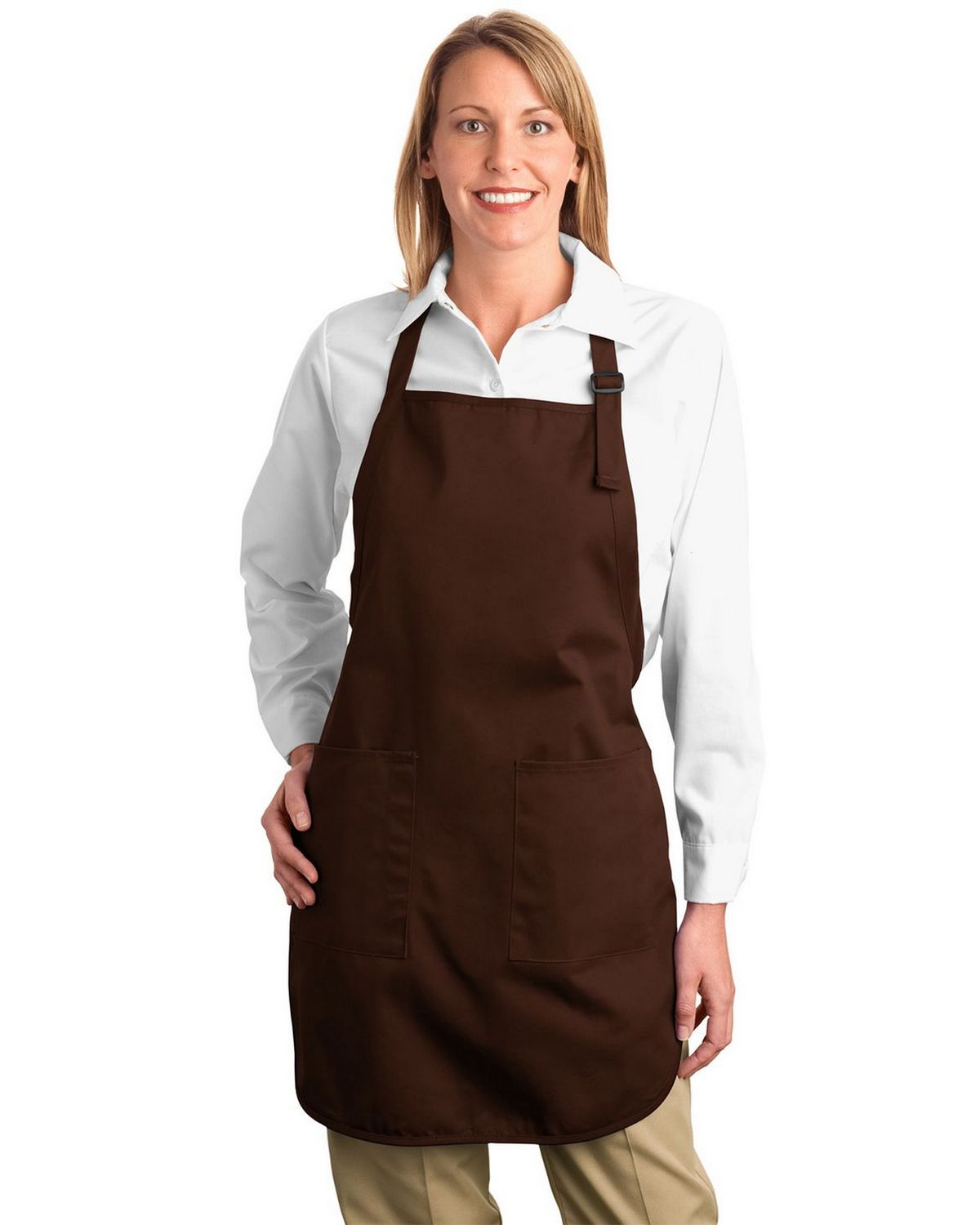 Port Authority A500 Full Length Apron with Pockets