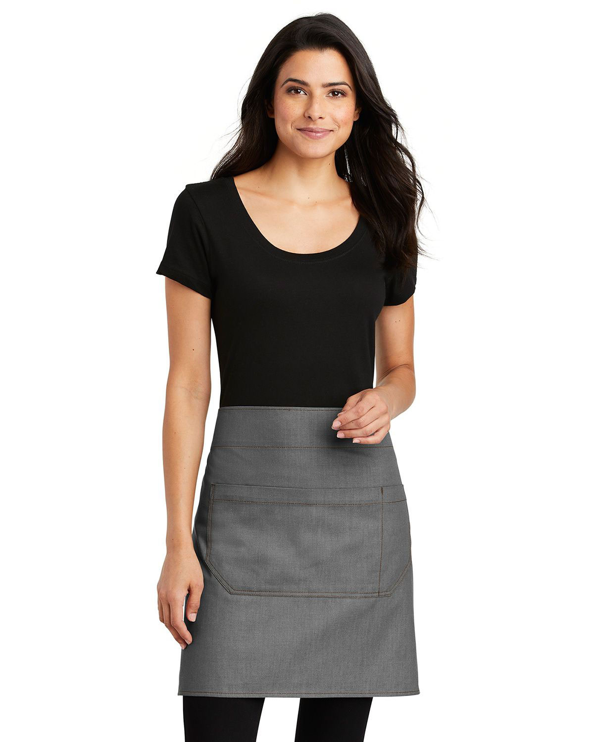 Port Authority A801 Market Half Bistro Apron