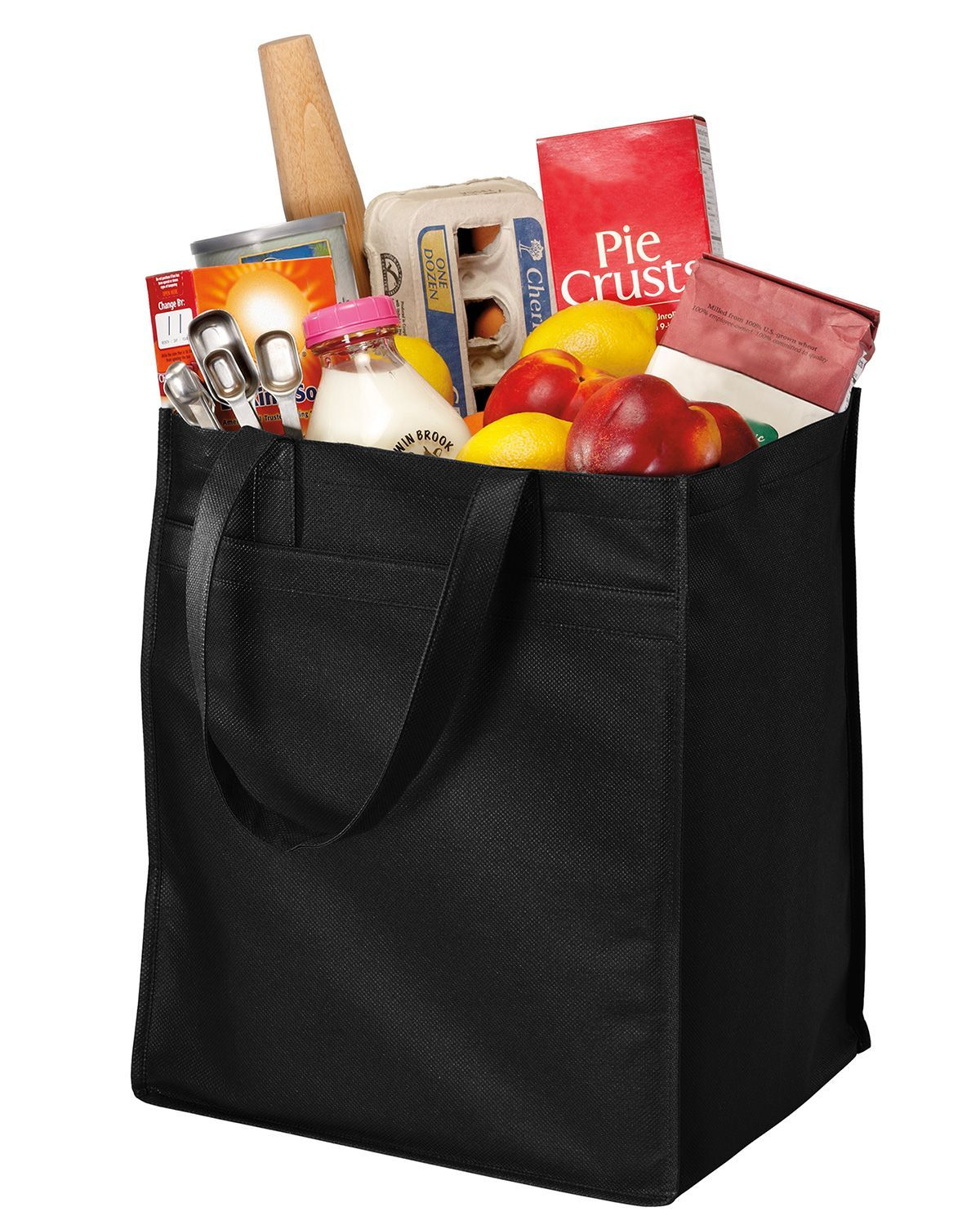 Port Authority B160 Extra Wide Polypropylene Grocery Tote