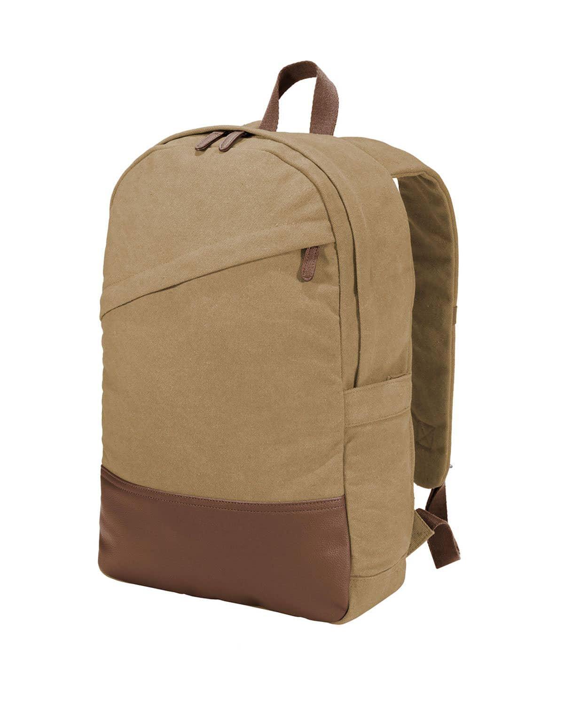 Port Authority BG210 Cotton Canvas Backpack