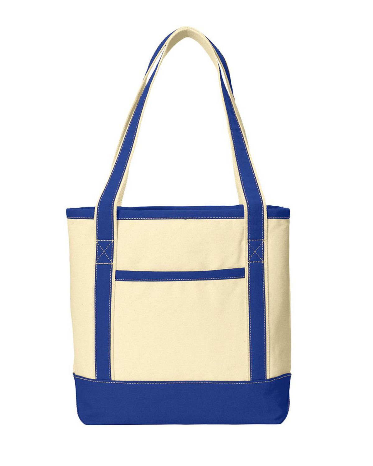 Port Authority BG412 Medium Cotton Canvas Boat Tote