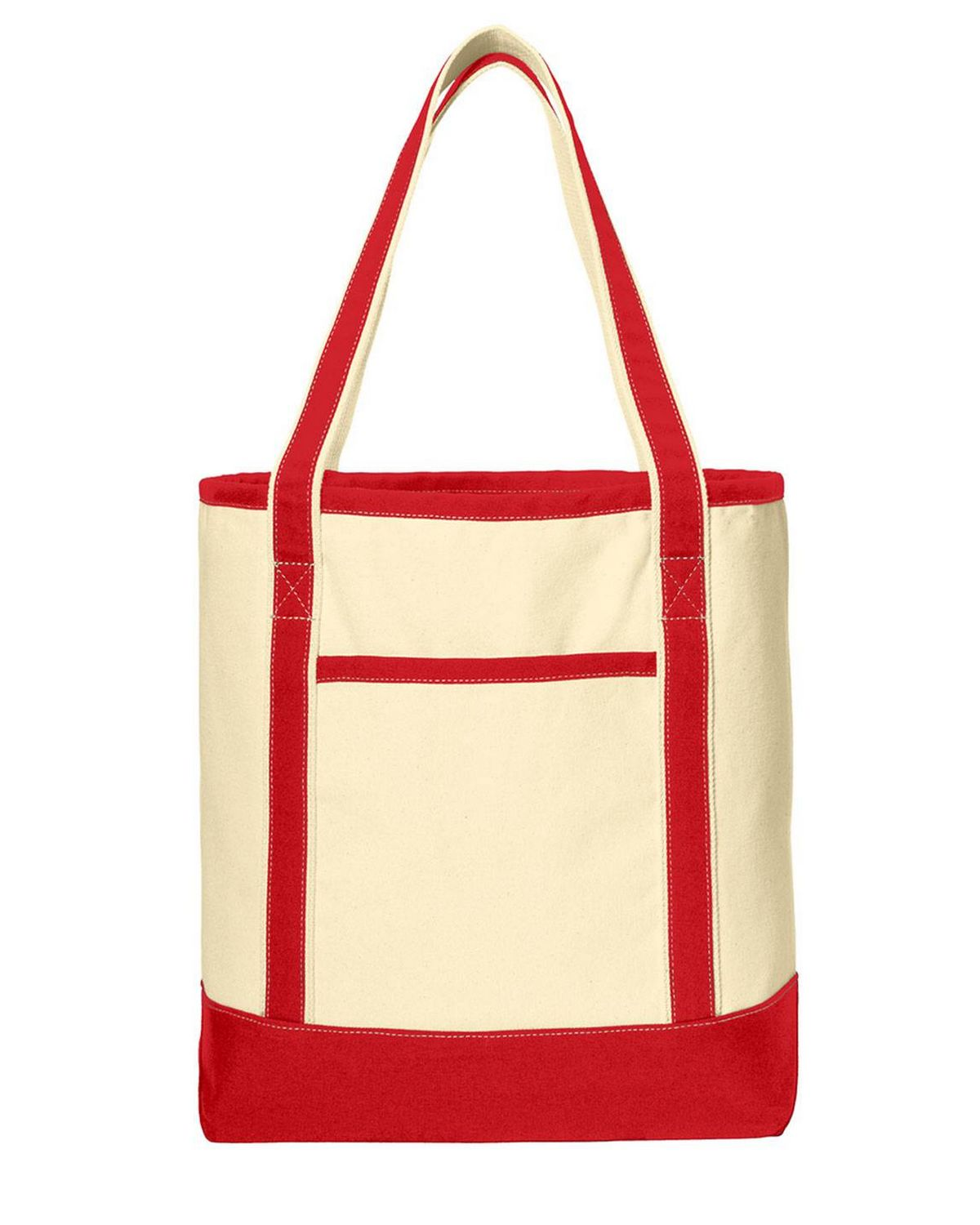 Port Authority BG413 Large Cotton Canvas Boat Tote