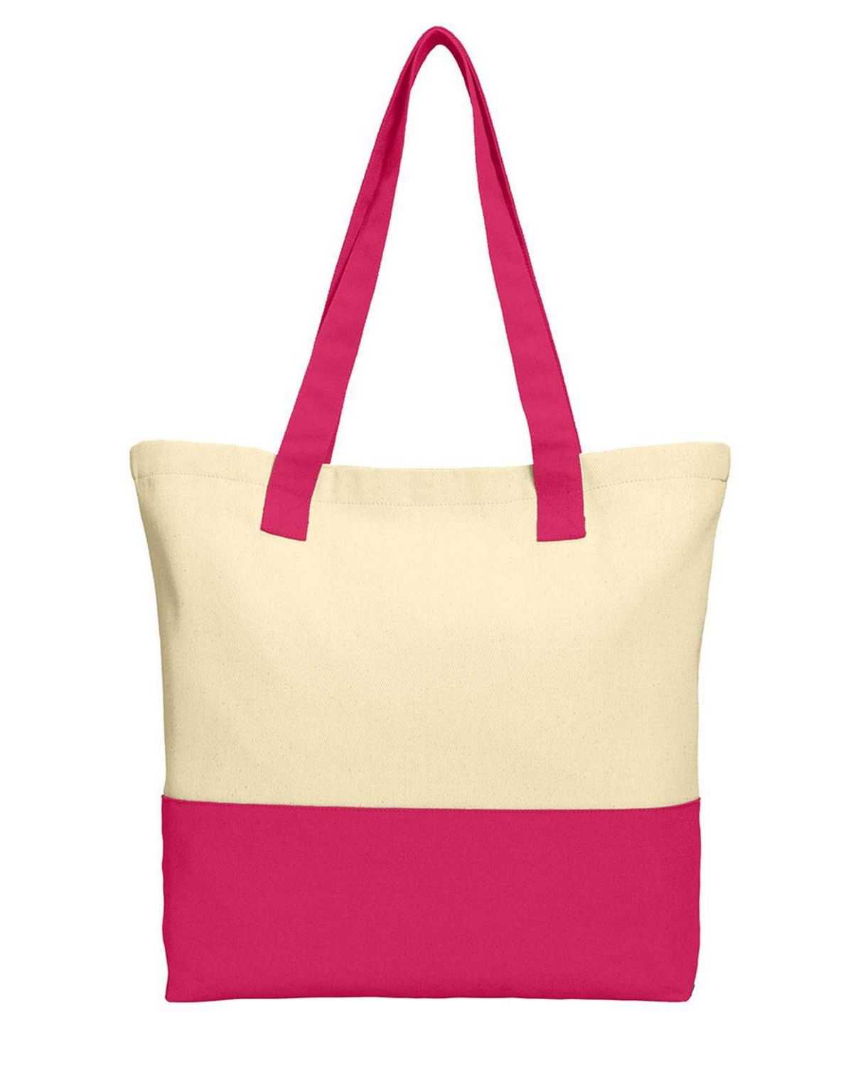 Port Authority BG414 Colorblock Cotton Tote