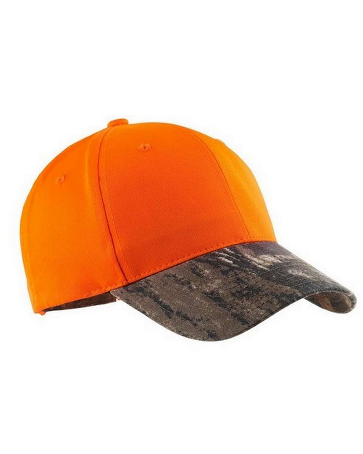 Port Authority C804 Safety Cap with Camo Brim