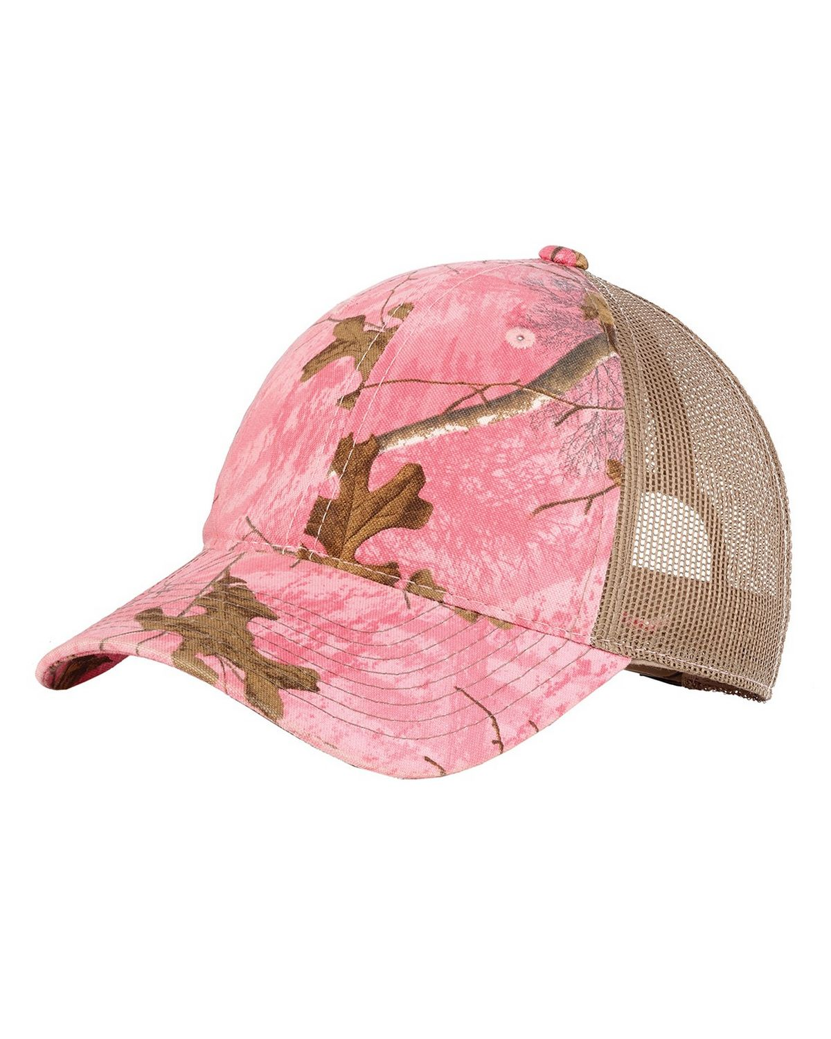 Port Authority C929 Unstructured Camouflage Mesh Back Cap