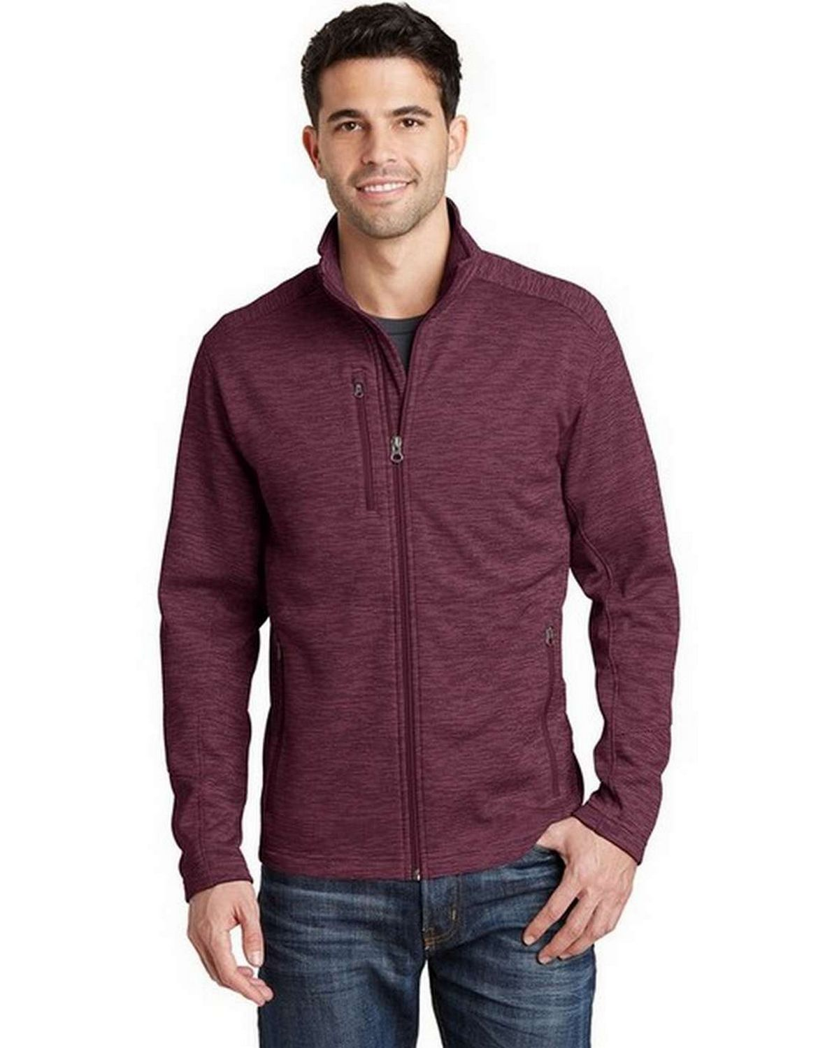 Port Authority F231 Digi Stripe Fleece Jacket