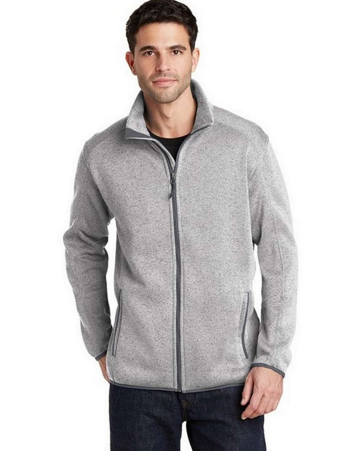 Port Authority F232 Sweater Fleece Jacket
