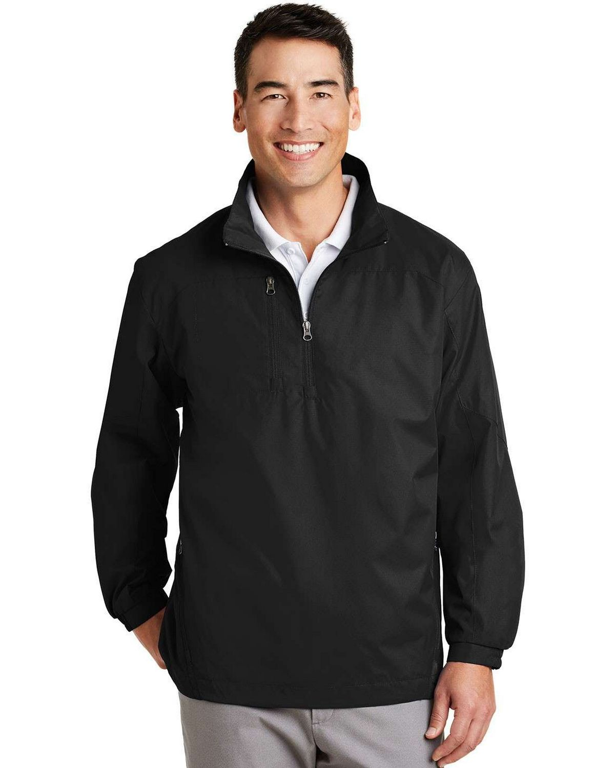 Port Authority J703 1/2-Zip Wind Jacket