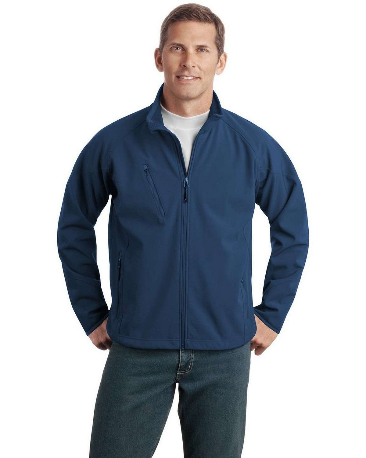 Port Authority J705 Textured Soft Shell Jacket