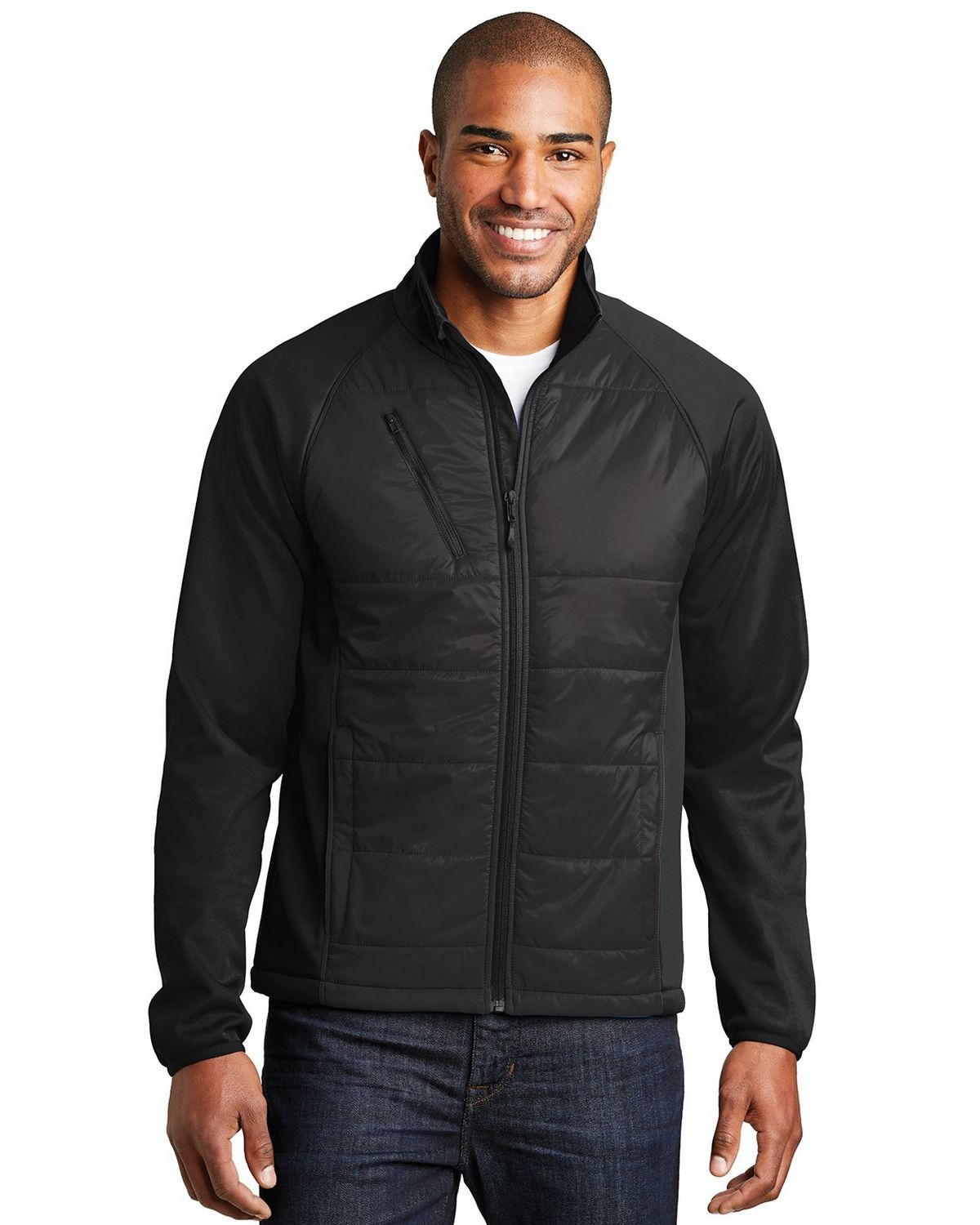 Port Authority J787 Hybrid Soft Shell Jacket