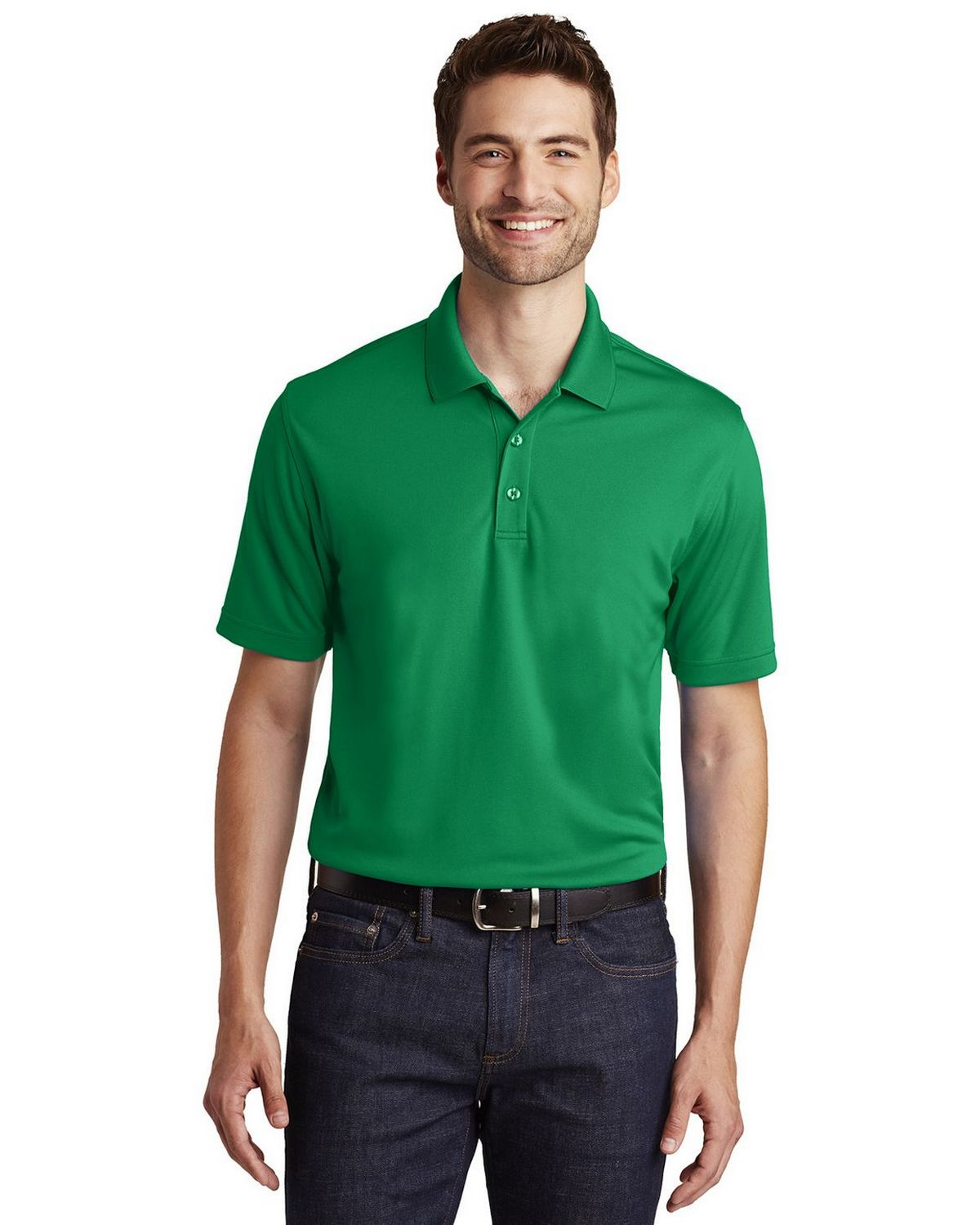 Port Authority K110 Mens Dry Zone UV Micro Mesh Polo Shirt