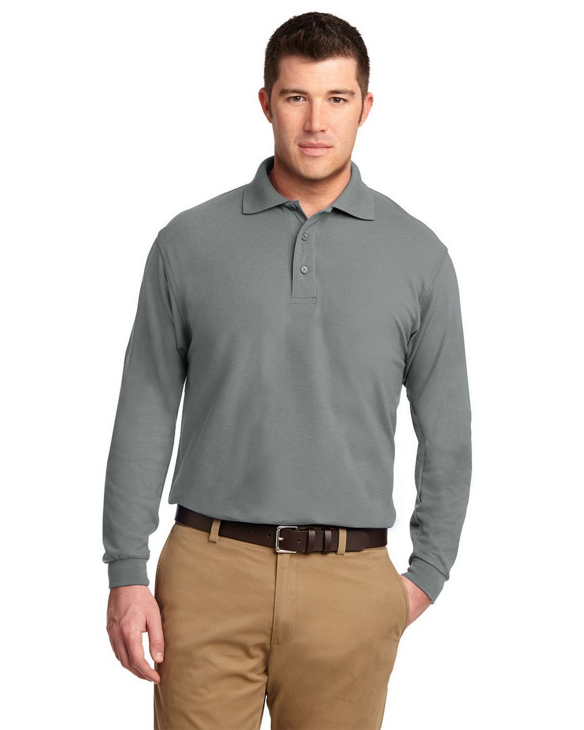 Port Authority K500LS Long Sleeve Silk Touch Polo
