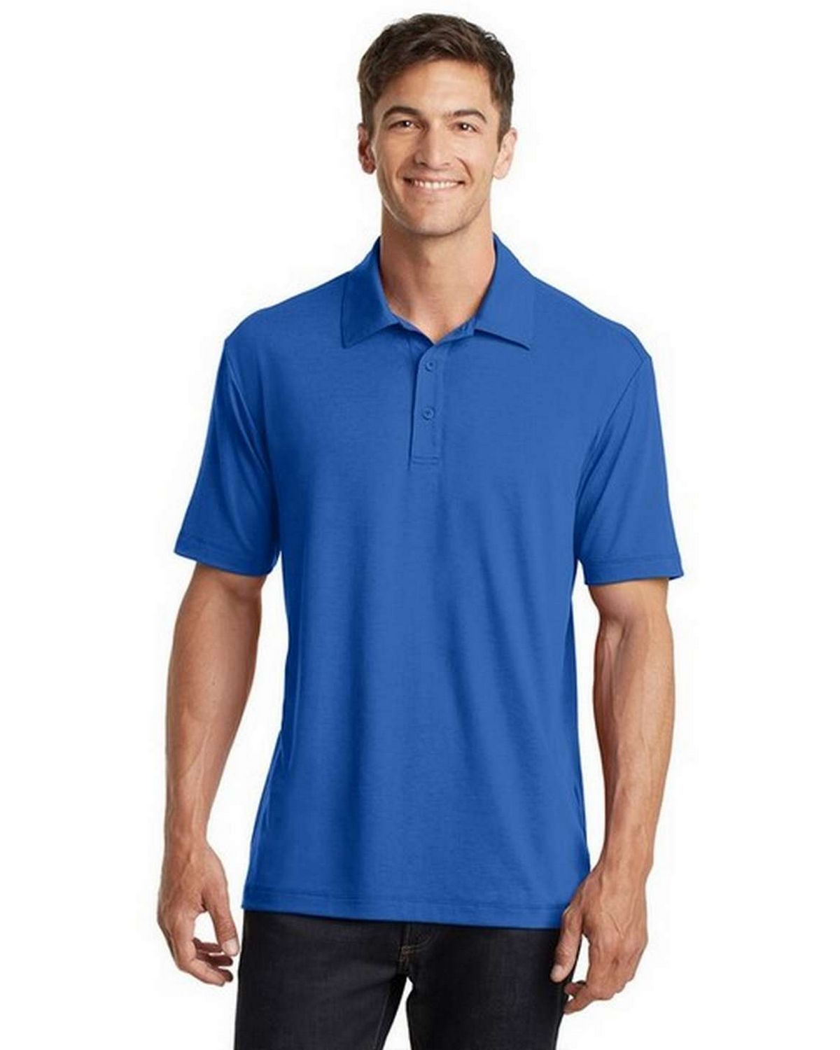 Port Authority K568 Cotton Touch Performance Polo Shirt