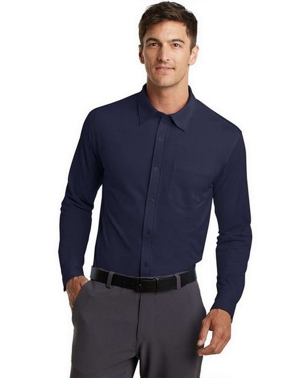 Port Authority K570 Dimension Knit Dress Shirt