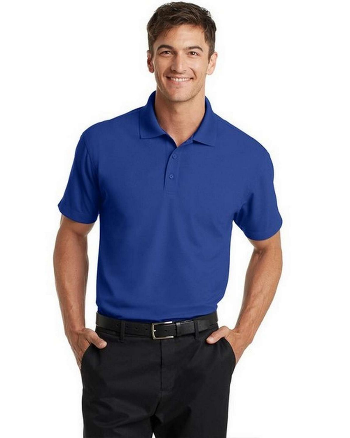 Port Authority K572 Dry Zone Grid Polo Shirt