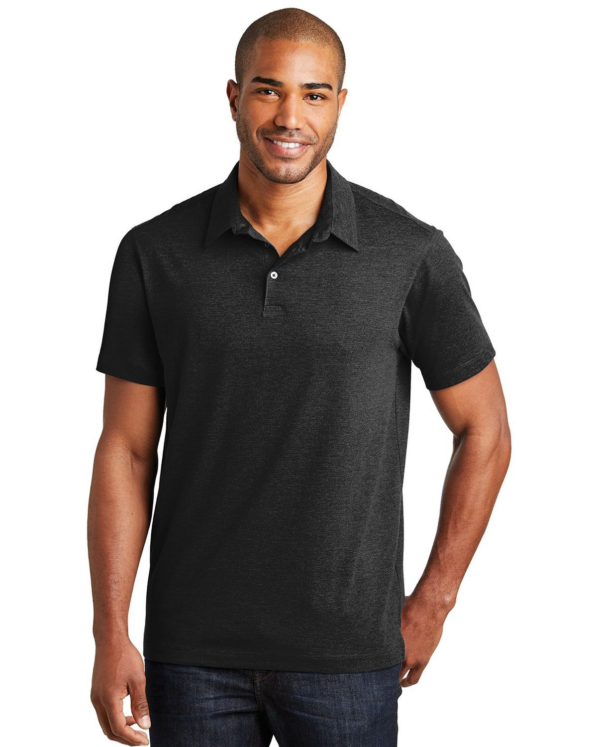 Port Authority K577 Meridian Cotton Blend Polo