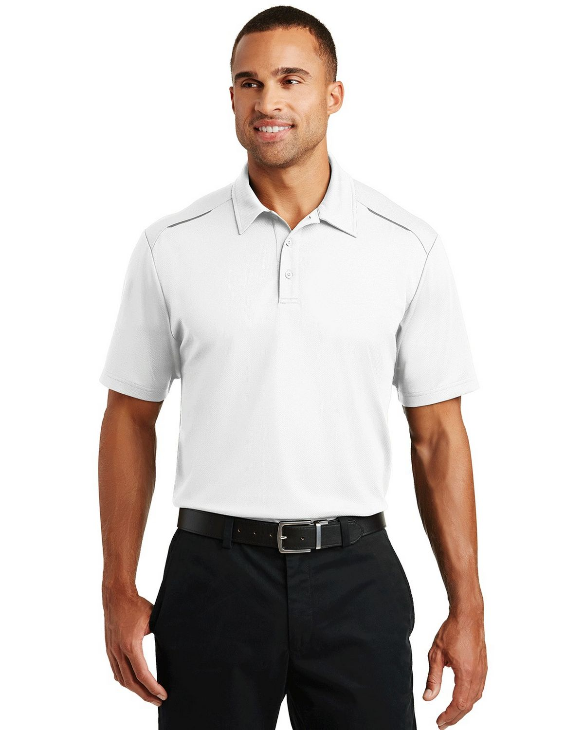 Port Authority K580 Pin Mesh Polo