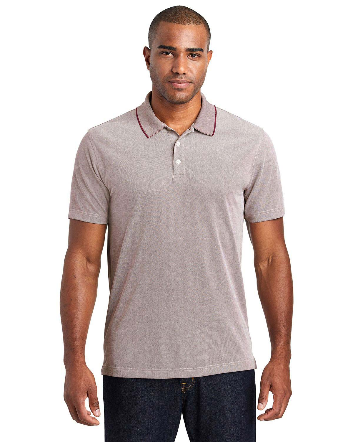 Port Authority K582 Poly Oxford Pique Polo