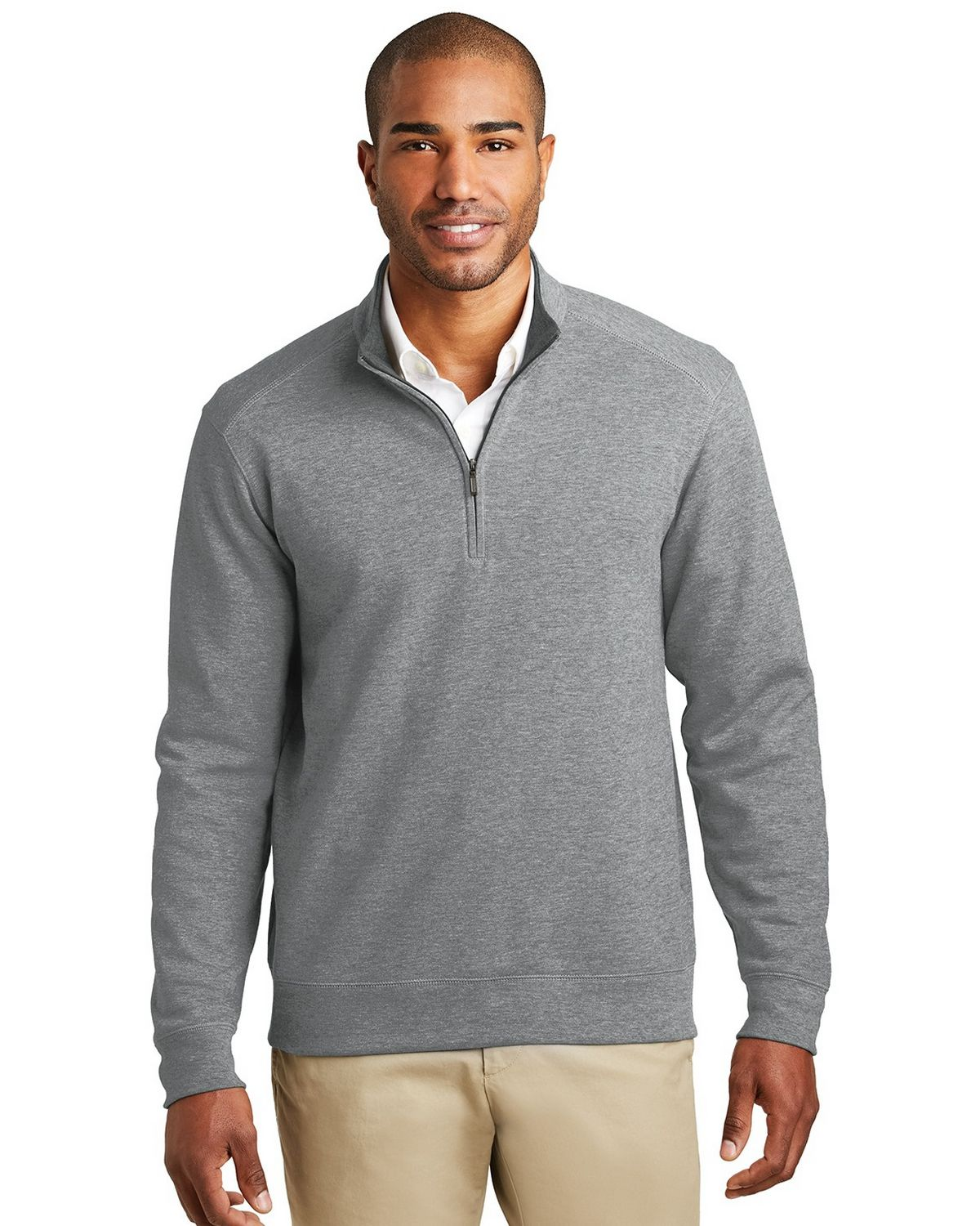 Port Authority K807 Interlock 1/4-Zip