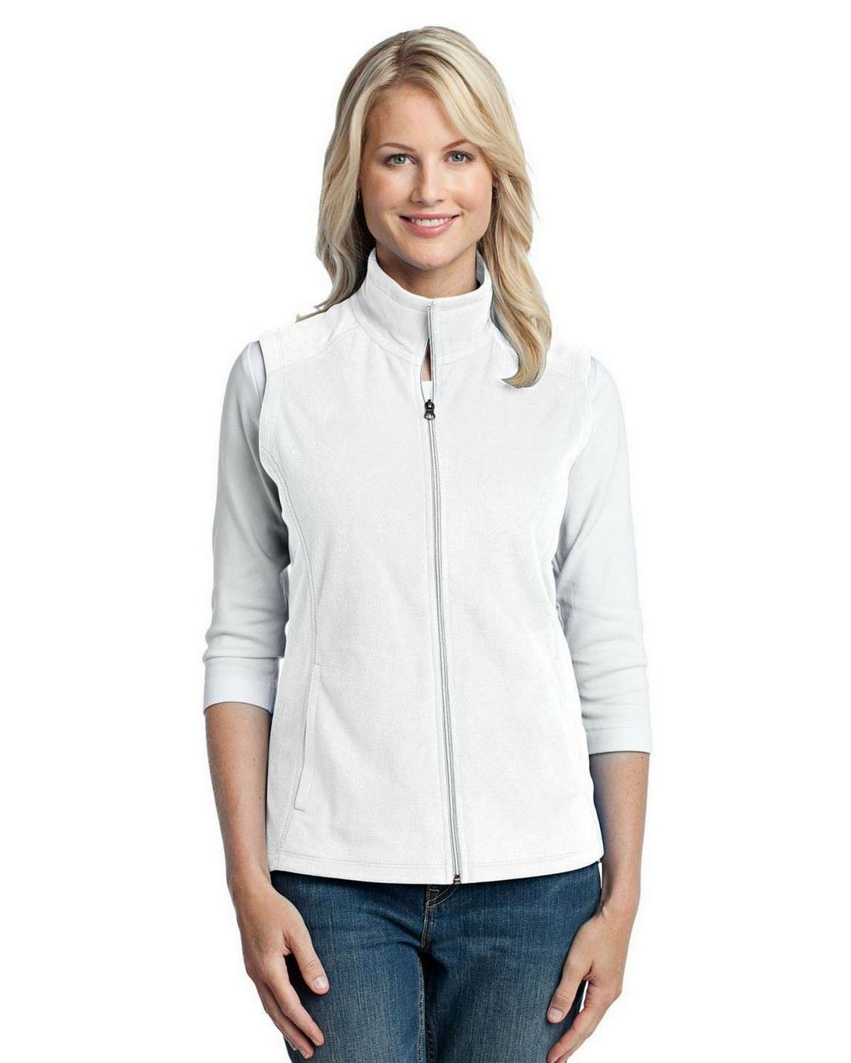 Port Authority L226 Ladies Microfleece Vest