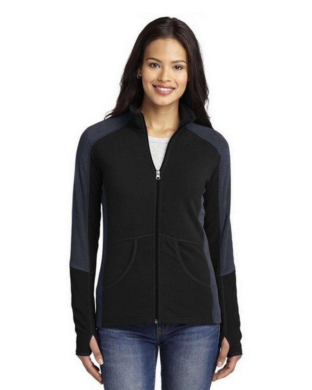 Port Authority L230 Ladies Colorblock Microfleece Jacket