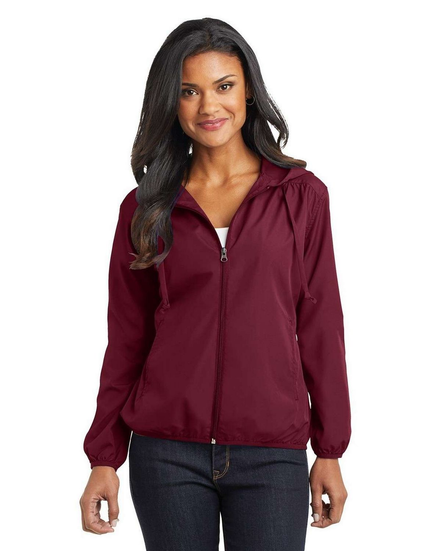 Port Authority L305 Ladies Hooded Essential Jacket