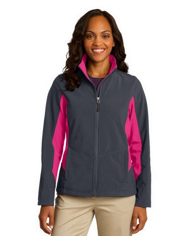 Port Authority L318 Ladies Core Colorblock Soft Shell Jacket