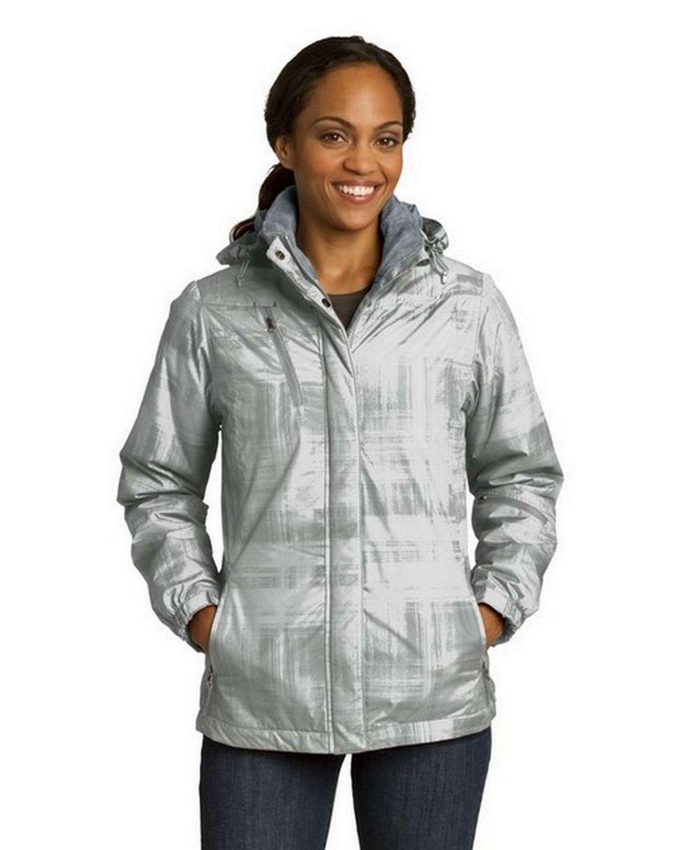 Port Authority L320 Ladies Brushstroke Print Insulated Jacket