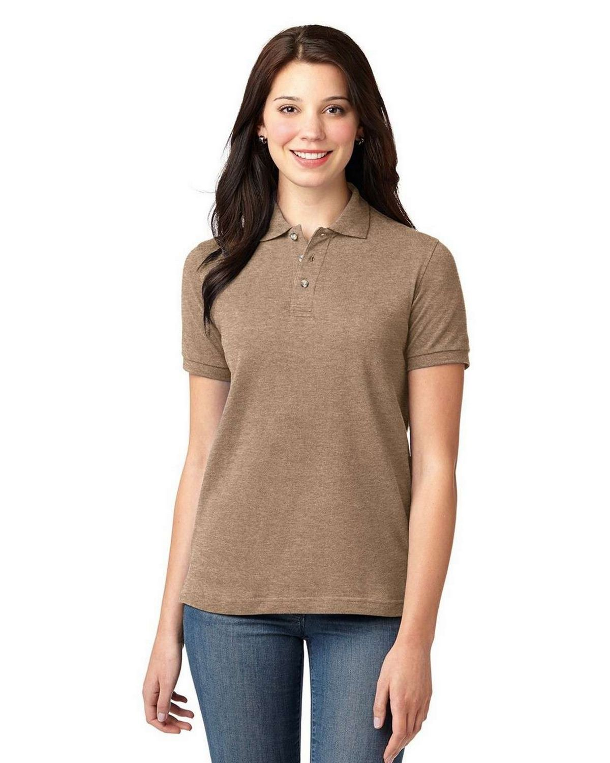 Port Authority L420 Ladies Pique Knit Polo