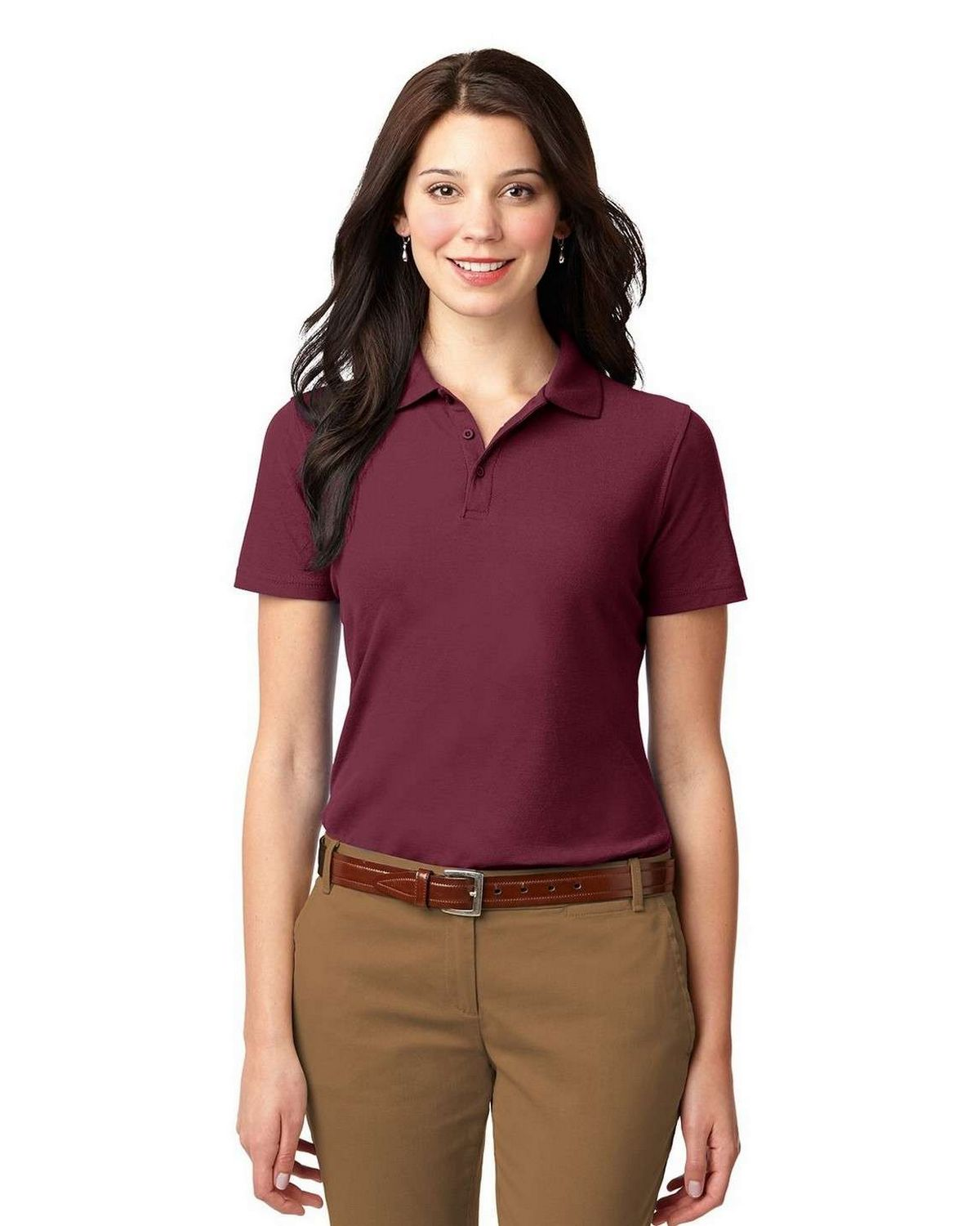 Port Authority L510 Ladies Stain-Resistant Polo