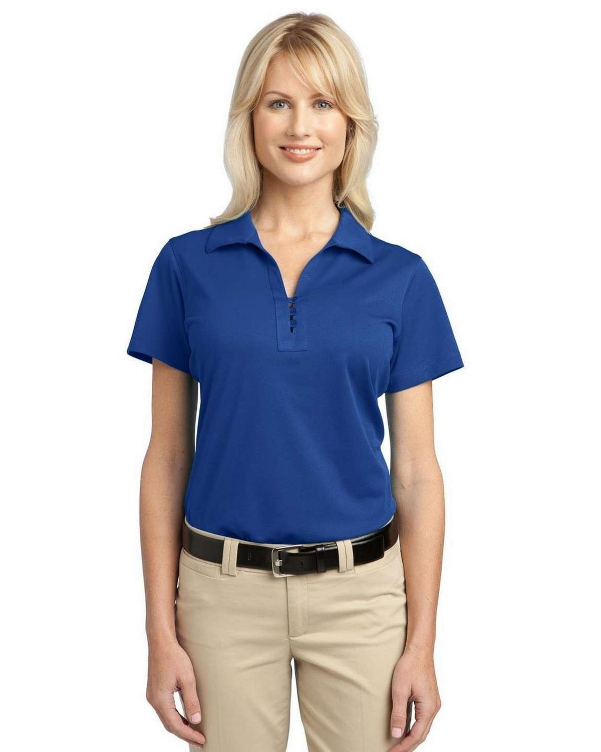 Port Authority L527 Ladies Tech Pique Polo